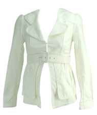 *New* White Liz Lange the Collection Maternity Meredith Career Maternity Blazer (Size One)