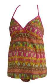 bc07f24c47743 *New* Pink Liz Lange Swim Maternity Two Piece Eleni Designer Floral  Swimsuit (Size
