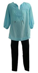 Lot of 3: Motherhood Maternity Blouse and Pants Set (Gently Used - Size Medium/Small)