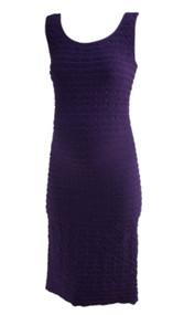 Eggplant Purple Tees by Tina Maternity Sleeveless Maternity Dress (Like New - One Size)