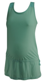 Robin's Egg GAP fit Maternity Athletic Racer Back Maternity Tank (Like New - Size Small)