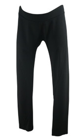 Black Isabella Oliver Maternity Casual Elastic Cropped Maternity Pants (Gently Used - Size 5)