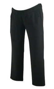 Black Hatch Maternity Cropped Career Maternity Trousers (Like New - Size 0)