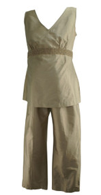 *New* Beige Mimi Maternity Special Occasion Outfit (Size Medium)