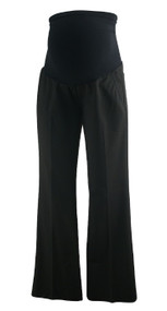 Black A Pea in the Pod Full Panel Career Maternity Pants (Like New - Size Small)
