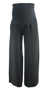 Black A Pea in the Pod Maternity Flowy Career Maternity Trousers (Like New - Size X-Small)