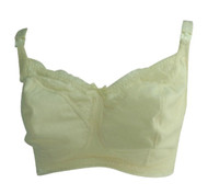 Cream Bravade Designs Maternity Lace Maternity & Nursing Bra (Like New - Size 38(DDD)F/G)