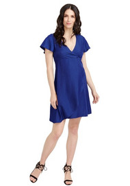 Navy Rosie Pope Maternity Casual Grace Dress (Like New - Size Large)