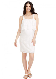 *New* Ivory Rosie Pope Maternity Mia Lace Dress (Size - Large)