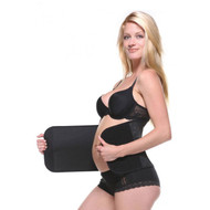 Blck Belly Bandit Maternity Bamboo Wrap (Like New - Size X-Small)