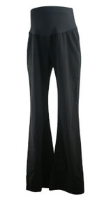 Black A Pea in the Pod Maternity Career Maternity Slacks (Like New - Size Large)