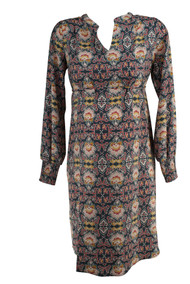 *New* Floral Print Loft Maternity Cinched Sleeve Maternity Dress (Size X-Small)