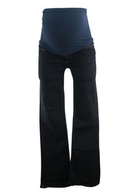 Joe's Brand Dark Wash Full Panel Boot Cut Maternity Jeans (Gently Used - Size W 27)