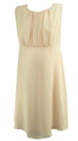 Peach A Pea in the Pod Maternity Sheer Flowy Maternity Dress (Like New - Size Medium)
