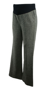 Gray Mimi Maternity Winter Career Maternity Pants (Like New - Size Small)