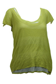 *New* Laurie B. Maternity A Pea In A Pod Collection Knit T-Shirt (Size Medium)