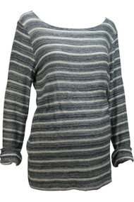 *New* A Pea in a Pod Maternity Collection: Black & White Sweater (Size Large)