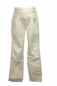 Cream 7 for All Mankind - A Pea in a Pod  Maternity Corduroy Pants (Gently Used - Large Short)