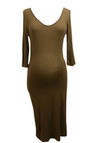 *New* ABS Collection 3/4 Sleeve Maternity Dress (Large)