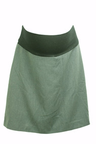 Jules & Jim Maternity Gray Skirt (Gently Used - Size Large)