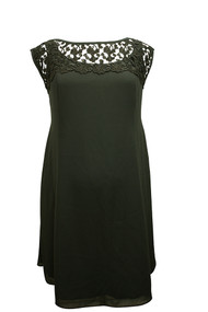 Laundry by Shelli Segal Black Maternity Dress (Gently Used - Size Petite)