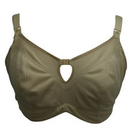 Beige Bravodo Super Support Nursing Bra (Gently Used - 36F)
