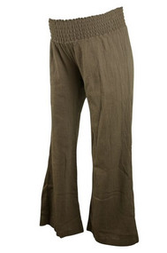 1 In The Oven Maternity Brown Casual Pants (Gently Used - Size Small)