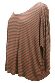 Rachel Pally Maternity Striped Casual Maternity Top (Gently Used - Size Small)
