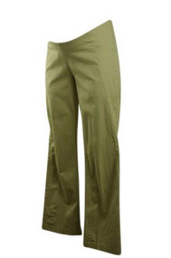 Japanese Weekend Maternity Khaki Pants (Pre-Owned - Size Medium)