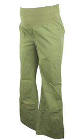 Green GAP Maternity Khaki Summer Pants (Gently Used - Size 2 Reg.)