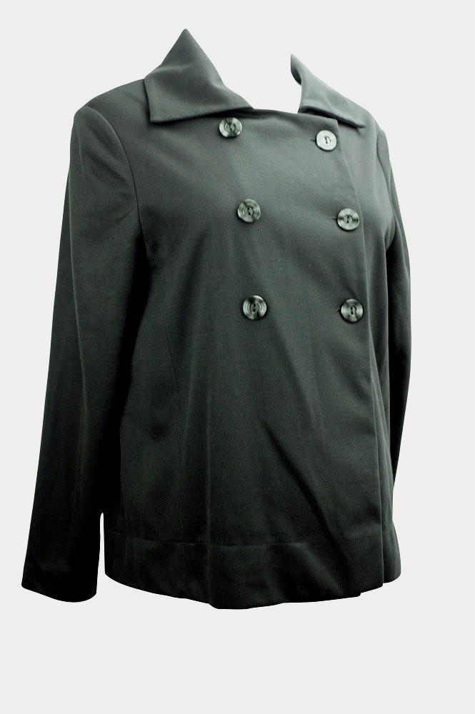 86b3d60b1b2ed New* Black Cravings Maternity Modest Blazer (Size Large ...