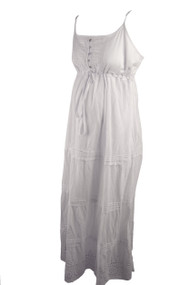 *New* White Motherhood Maternity Summer Maternity Maxi Dress (Size XL Petite)