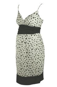 Polk-A-Dot Pattern Motherhood Maternity Spaghetti Strap Dress (Gently Used - Size Small)