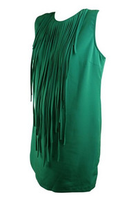 Sea Green Zara Basic Maternity Sleeveless Cocktail Dress (Like New - Size Large)