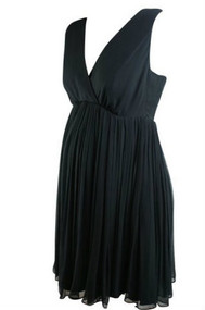 Black Rosie Pope Maternity Cocktail Dress (Like New - Size Large)