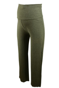 Gray Liz Lange Maternity Casual Jasmin Pants (Gently Used - Size 4)