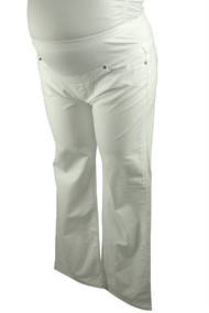 White Paige Maternity Flare Jeans (Like New - Size 33)