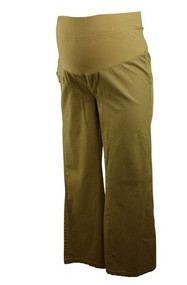 Tan Mimi Maternity Boot Cut Pants (Gently Used - Size X-Small)