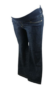 *New* Navy Ser Fontaine Maternity Boot Cut Jeans (Size 32)