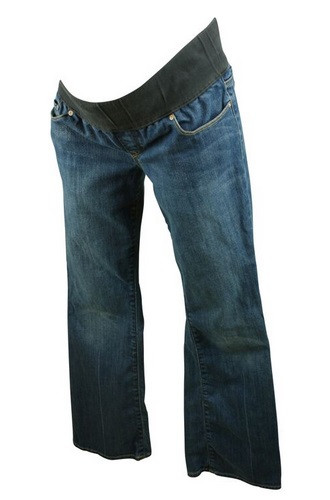 e7f1352d2946e ... Blue GAP Maternity Boot Cut Jeans (Gently Used - Size 28R). Image 1
