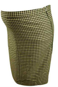 Herringbone Pattern Mimi Maternity Winter Pencil Skirt (Like New - Size Large)