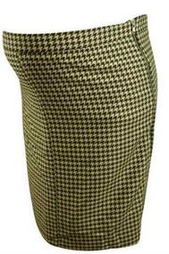 Herringbone Pattern Mimi Maternity Winter Pencil Skirt (Like New - Size Large)