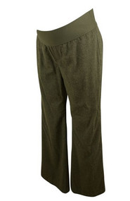 Gray GAP Maternity Boot Cut Career Pants (Like New - Size Medium)
