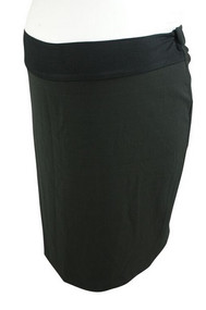 *New* Black Ripe Maternity Mini Maternity Skirt (Size 2XL)
