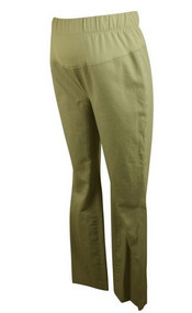 Khaki GAP Maternity Long Boot Cut Bottoms (Like New - Size 6 Long)