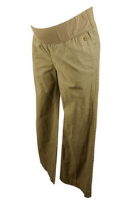 Beige GAP Maternity Boot Cut Khaki Pants (Gently Used - Size 8)