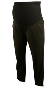Black A Pea in the Pod Maternity Bi-stretch Suiting Slim Leg Maternity Ankle Pants (Like New - Size X-Small)