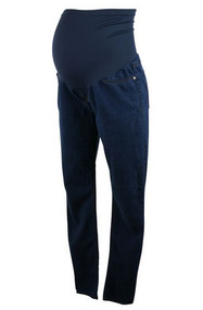 Blue Straight Leg It Jeans Maternity for A Pea in the Pod Collection (Gently Used - Size 3lr)
