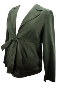 *New* Black Ran Designs Maternity Career Blazer (Size X-Small)