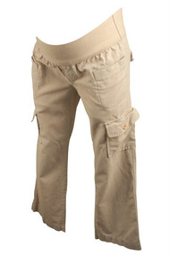 Cream GAP Maternity Corduroy Pants (Gently Used - Size 2)